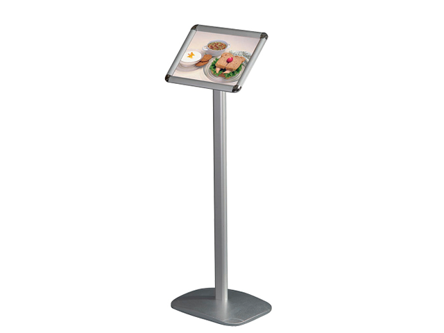 Alu Stand with 25 mm Snap-Frame (A3 - 29,7*42,0 cm)