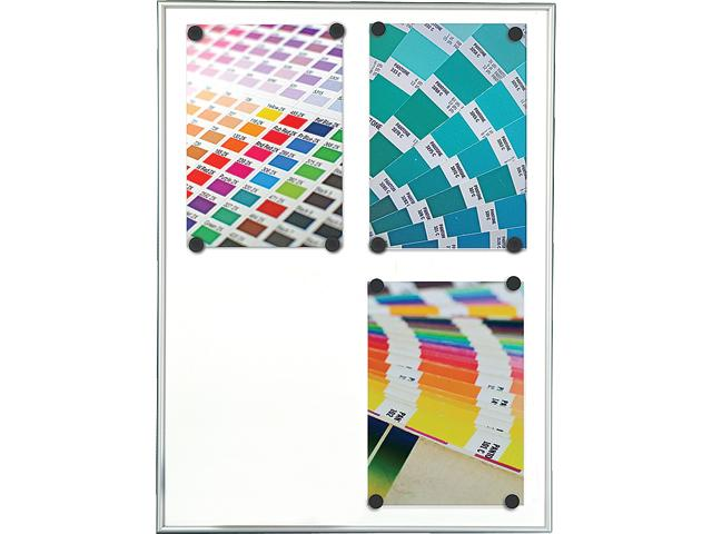 White Board Magnetic (Alu/White - 4 * A4)